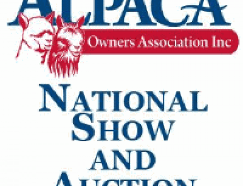 Alpaca Owners Assoc. National Auction March 18, 2016