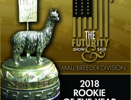 2018 Suri Rookie of the Year Small-size Farm